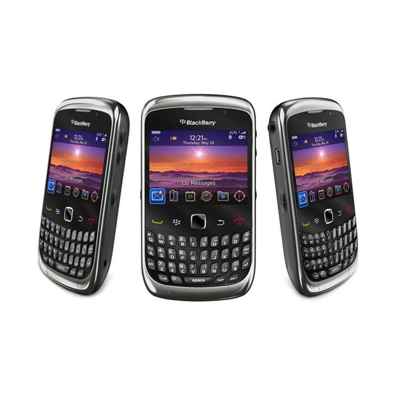 Blackberry Keppler 9300 Black Smartphone