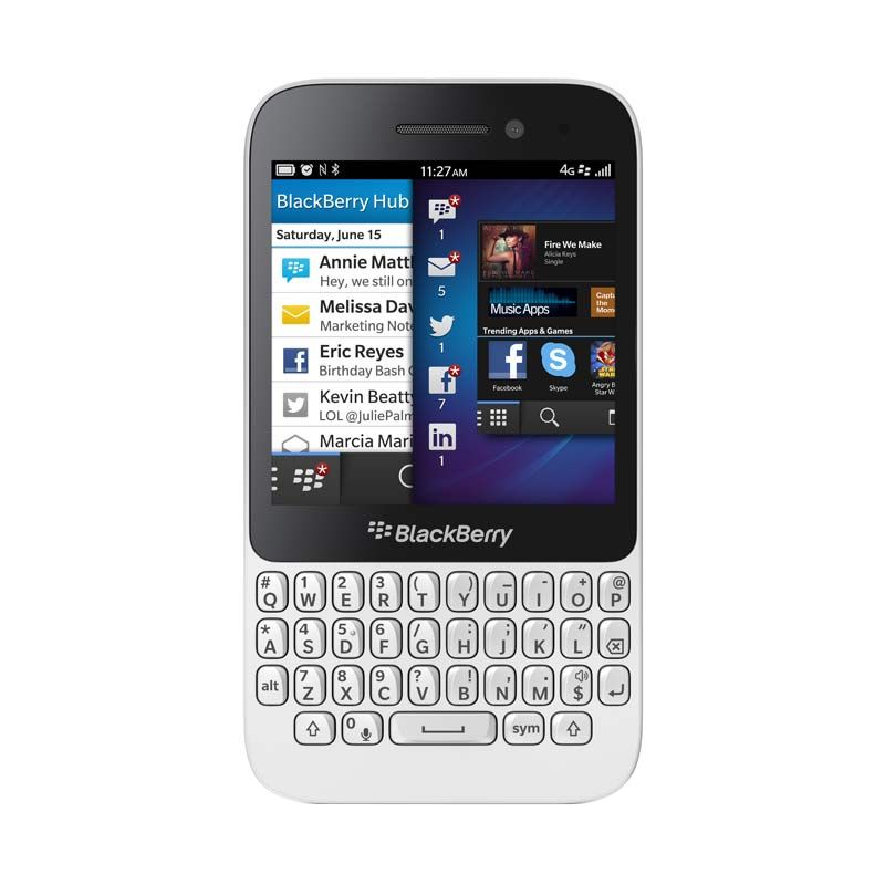 Blackberry Q5 Putih Smartphone