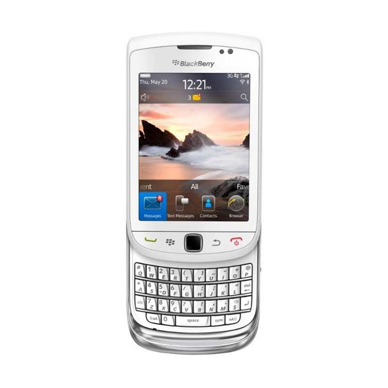 Blackberry Torch 9800 White Smartphone
