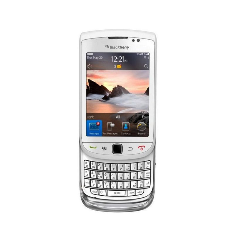 Blackberry Torch Jennings 9810 White Smartphone