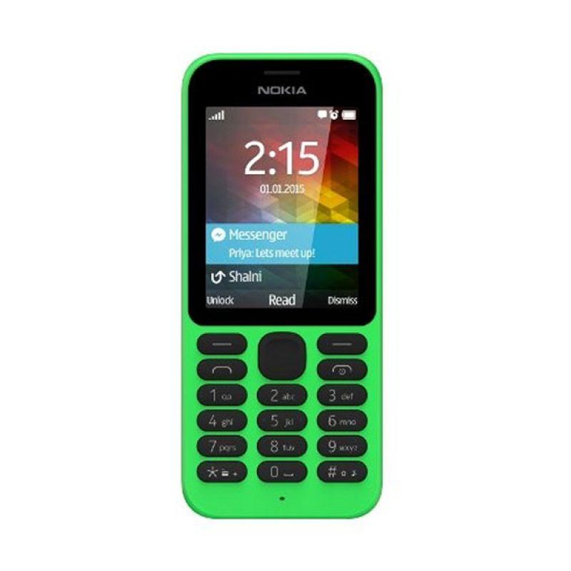 Nokia 215 Hijau Handphone [Dual SIM]