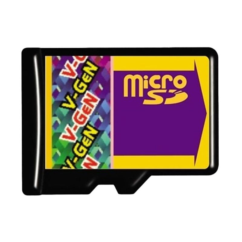 V-GeN Micro SD Memory Card [128 GB]