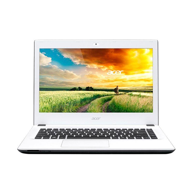 Event TA - Acer Aspire E5-473G Putih Notebook [Intel Core i5-4210/4 GB/14 Inch/Win 10] + Mouse Wireless (Logitech)