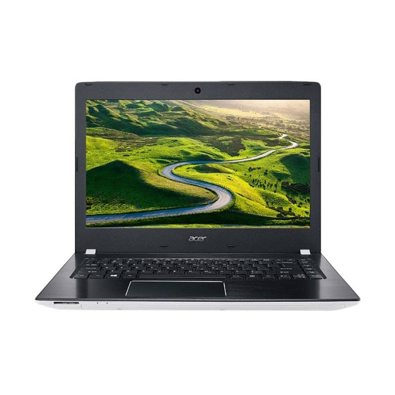harga ACER Aspire E5-475G 56N6 Notebook - White [Intel Core I5-7200U/4GB DDR4/500GB HDD/Nvidia GT940MX 2GB/14