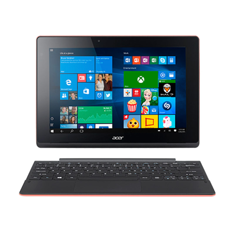 Acer Aspire Switch 10E SW3-013-12TY Notebook - Red - 9278969 , 15232951 , 337_15232951 , 4699000 , Acer-Aspire-Switch-10E-SW3-013-12TY-Notebook-Red-337_15232951 , blibli.com , Acer Aspire Switch 10E SW3-013-12TY Notebook - Red