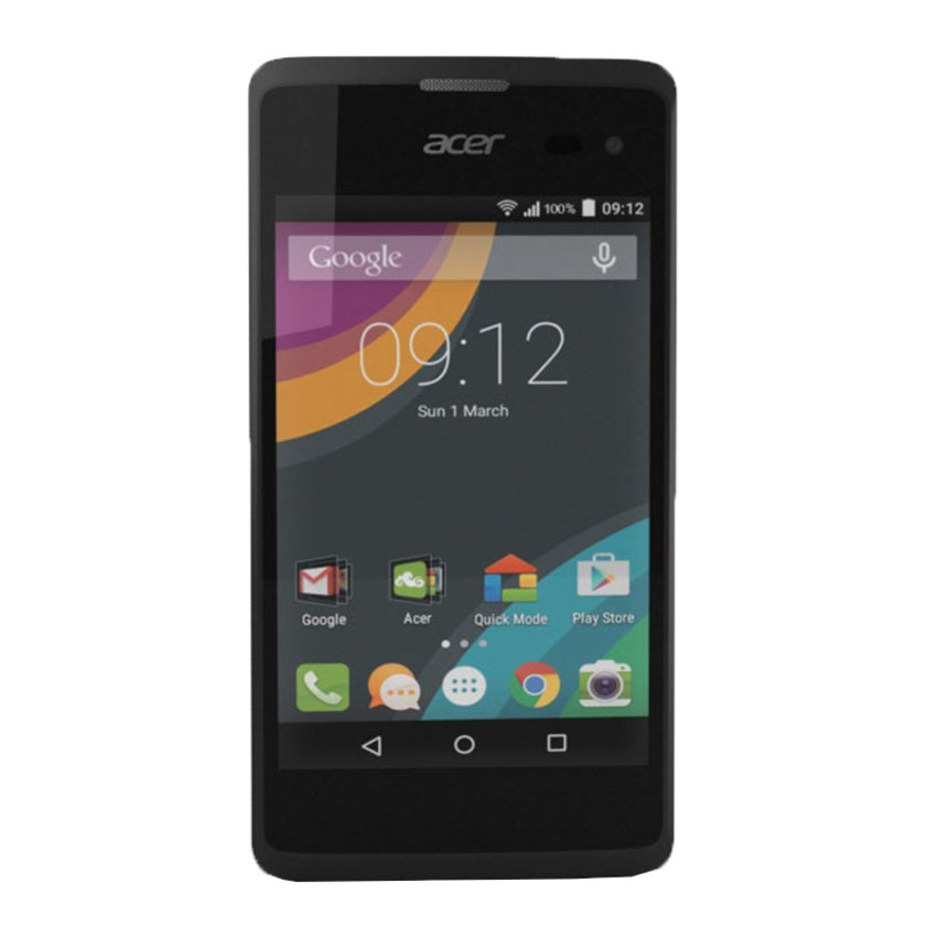 Acer Liquid Z220 Smartphone - Black [8GB/ 1GB]