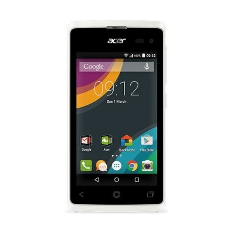 Acer Liquid Z220 Smartphone - Putih [8GB/ 1GB]
