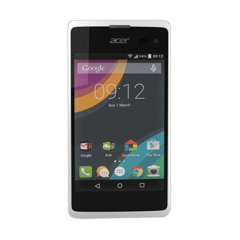 Acer Liquid Z220 Smartphone - White [8GB/ 1GB]