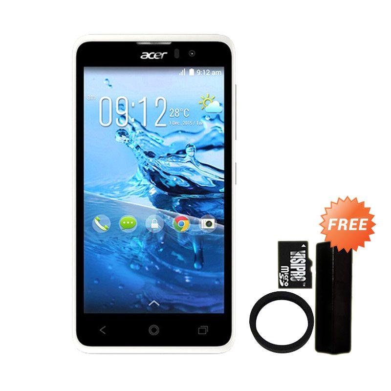 Acer Liquid Z520 Smartphone + Powerbank Advance 3200 mAh + Elastic Ring Bumper + MicroSDHC 8 GB Class 6