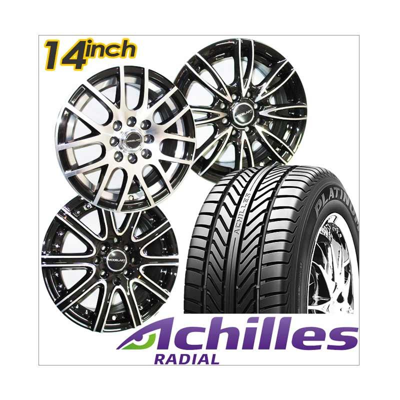 harga Paket Cicilan 4 Velg Racing [14 Inch] + 4 Ban Achilles Blibli.com