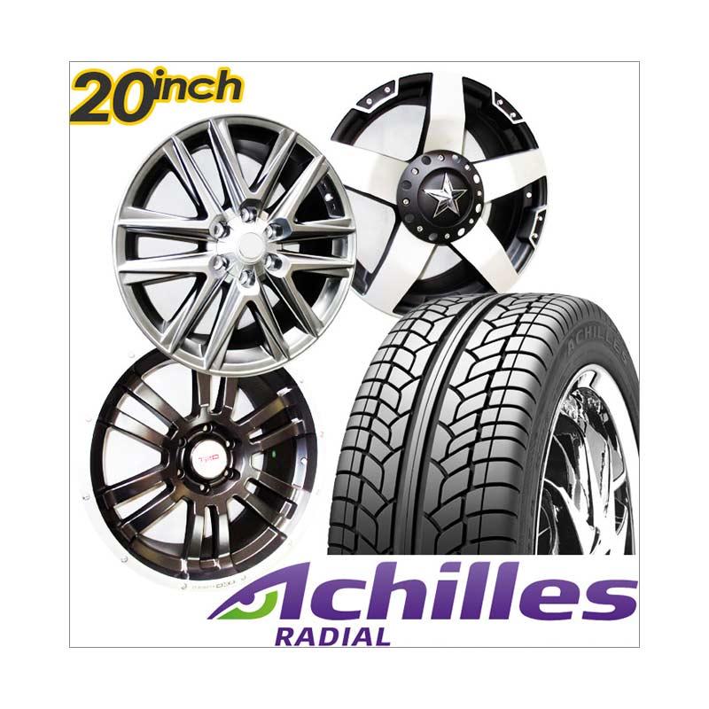 Jual Achilles Paket Cicilan 4 Velg Racing 20 Inch PCD