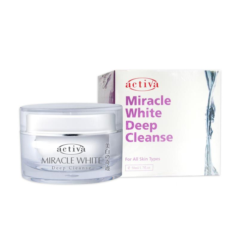 Activa Miracle White Deep Cleanse