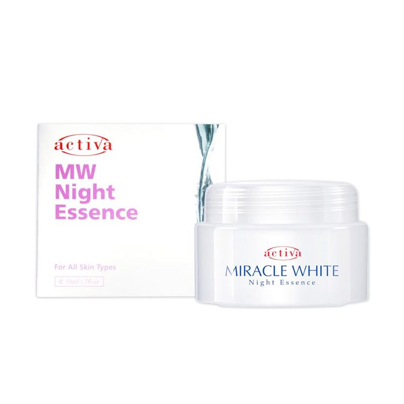 Activa Miracle White Night Essence