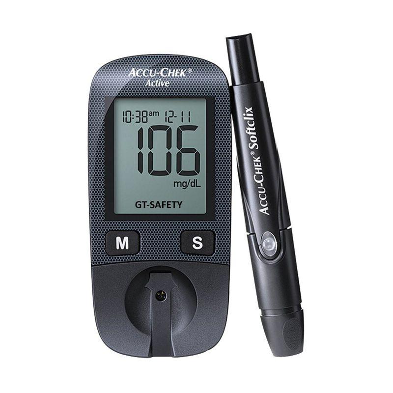 harga Accu-Chek Active Monitor Gula Darah Digital Alat Monitor Kesehatan [New Model] Blibli.com