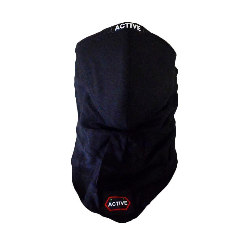 Active Care Anti Pollution Mask Black Masker