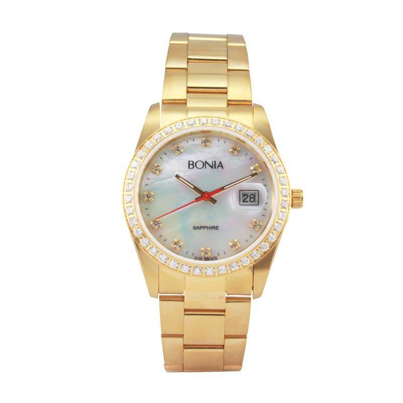 Bonia B147-1257S Gold Jam Tangan Pria
