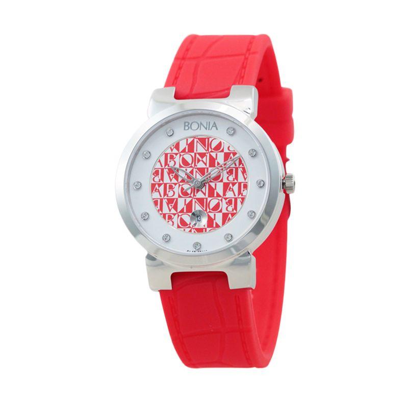 BONIA CANDY B10110-3367 Red Jam Tangan Wanita