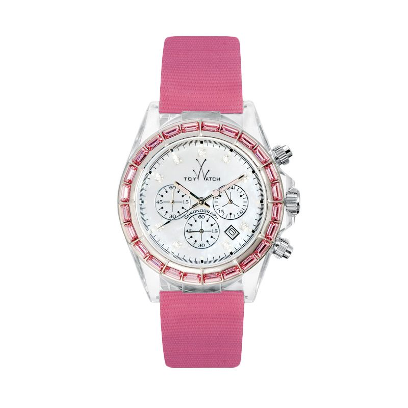 TOYWATCH TY9006-PK Pink Jam Tangan Wanita