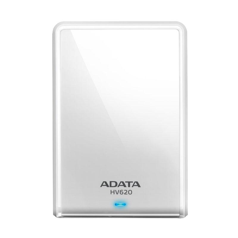 ADATA HV620 Hard Disk Eksternal - White [1 TB]