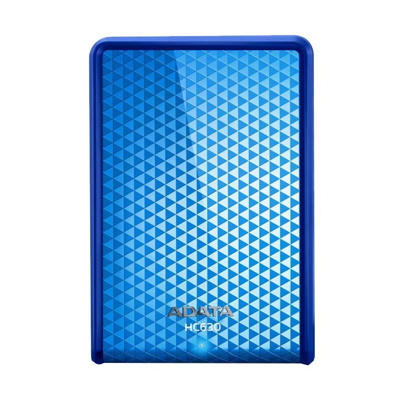 ADATA HC630 Blue Portable HardDisk [2.5 Inch/500 GB/USB 3.0] + Free Lanyard