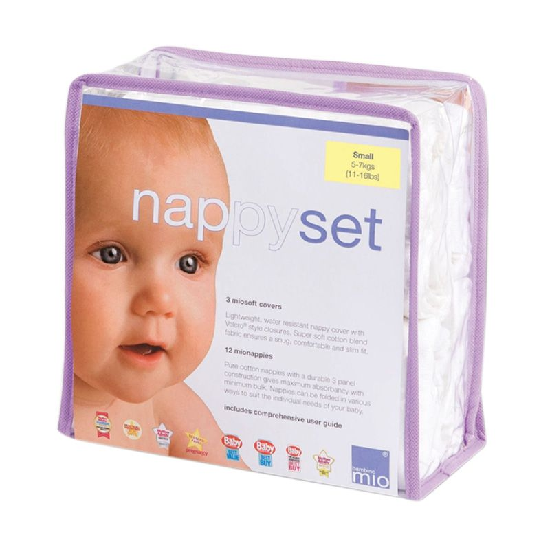 Bambino Mio Nappy Set Medium Popok Kain