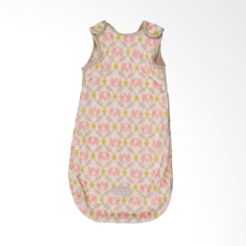Blankets and Beyond Baby Elephant Pink Sleeping Bag