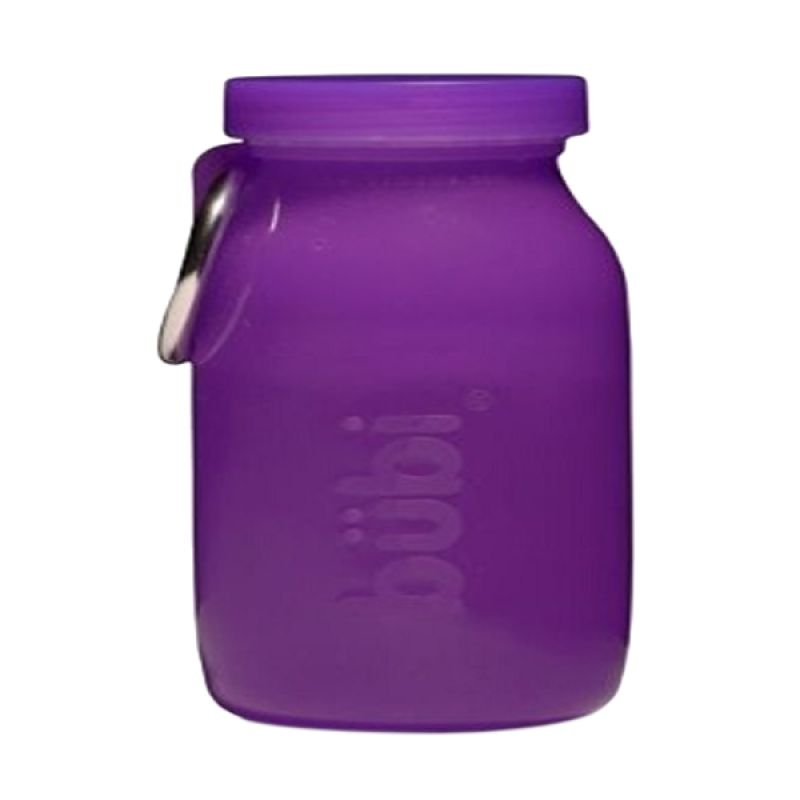 Bubi Multi-Use Silicone Grape Botol Minum [14 Oz]