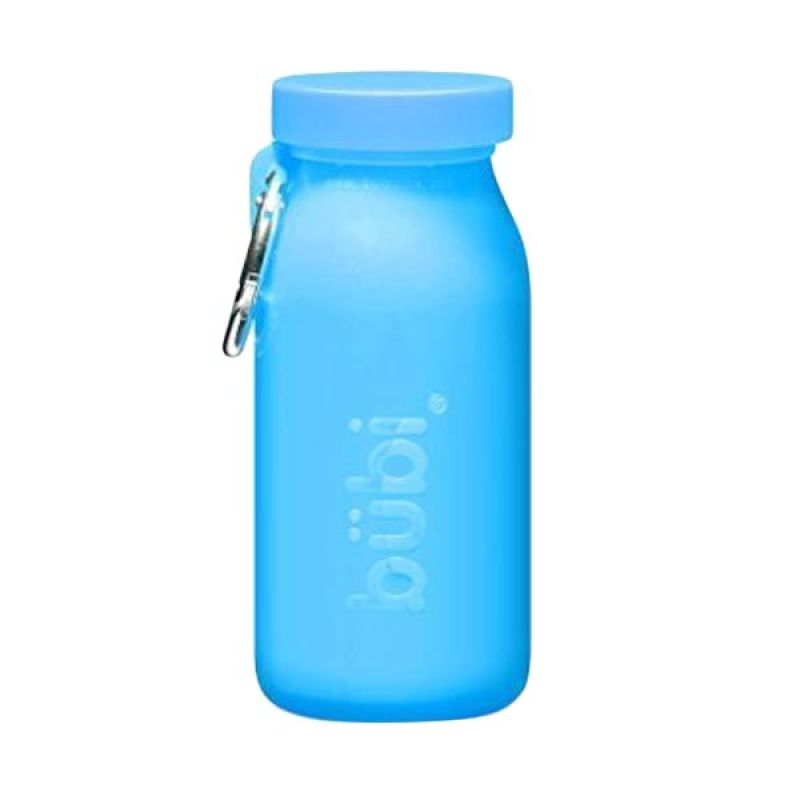 Bubi Silicone Multi Use Ocean Blue Botol Minum [14 oz]