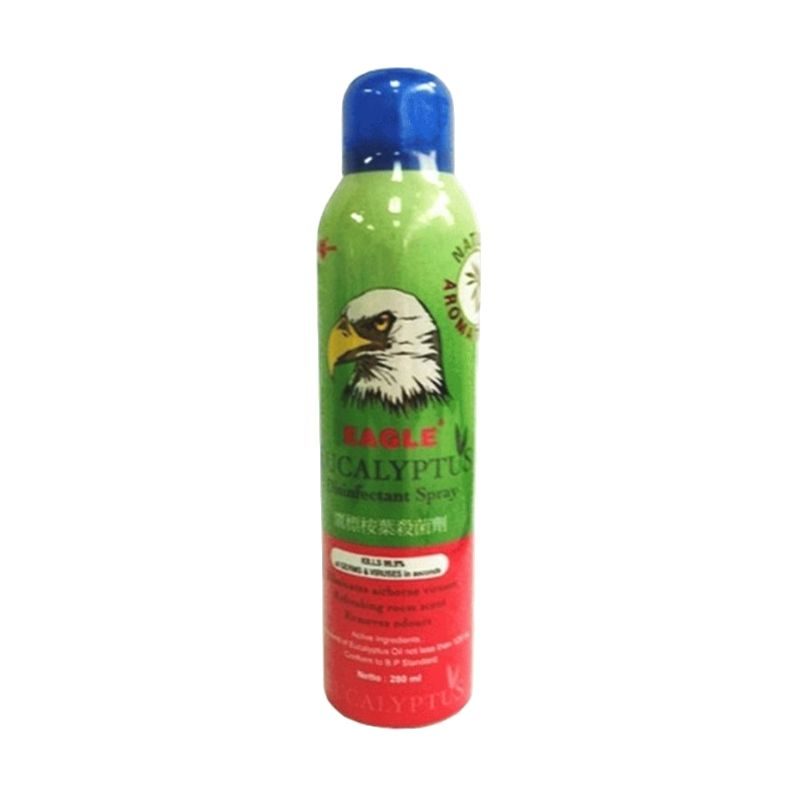 Caplang Eagle Eucalyptus Disinfectant Spray Multiguna [280 mL]
