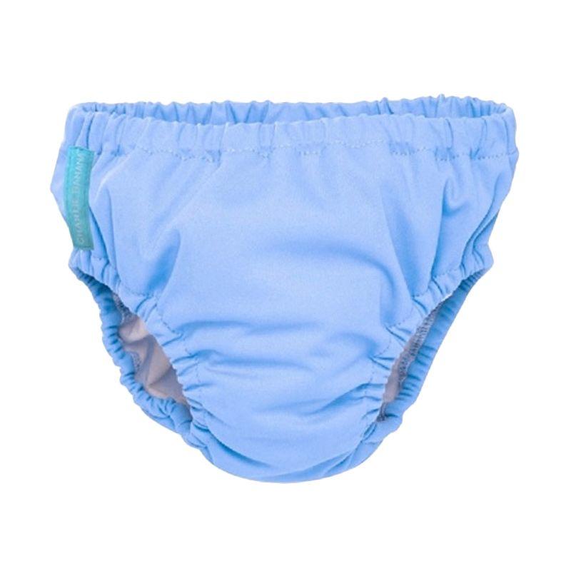 Charlie Banana Swim Diaper Plus Training Pants Periwinkle Blue Popok Kain (Medium)