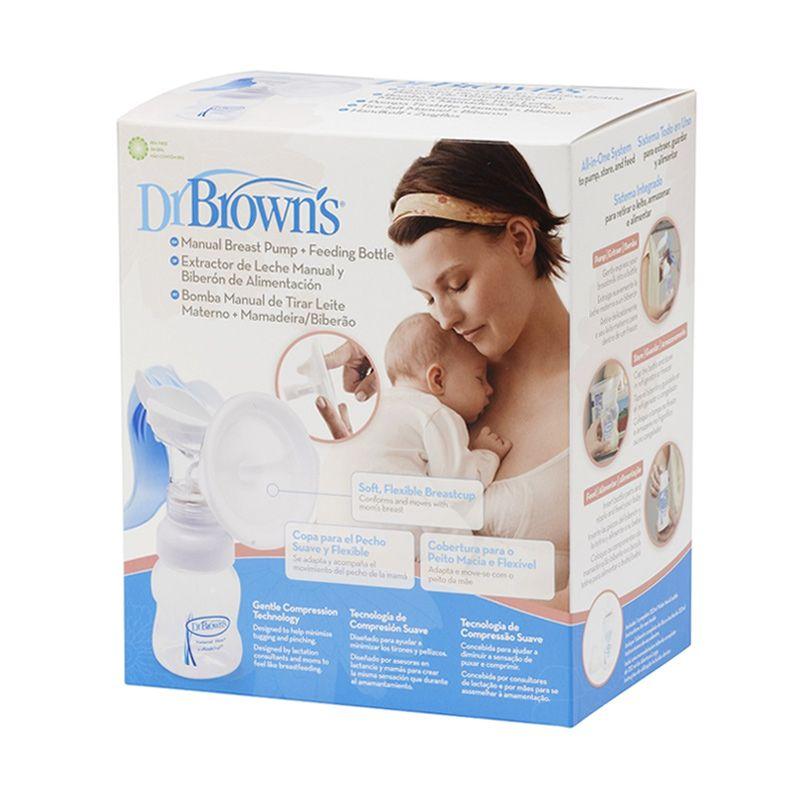 Dr. Brown's Manual Breastpump Pompa ASI