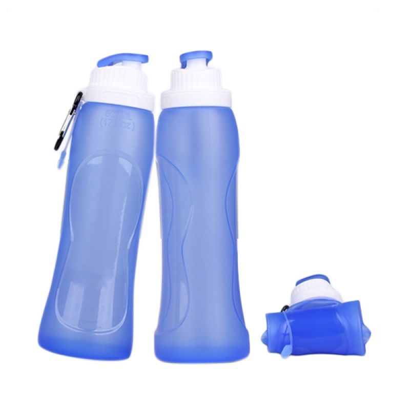 Kean Silicone Biru Botol Minum [550 mL]