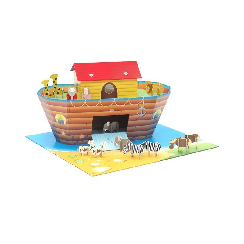 KROOOM Noah's Ark & Animals Mainan Anak