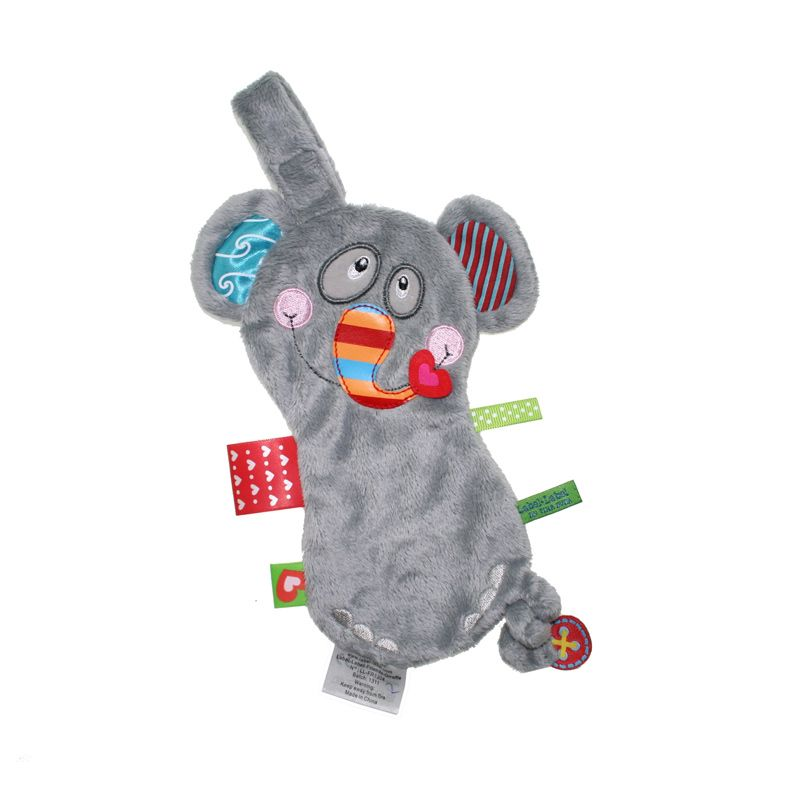 Label Label Pacifier Blanket Elephant Grey Mainan Bayi