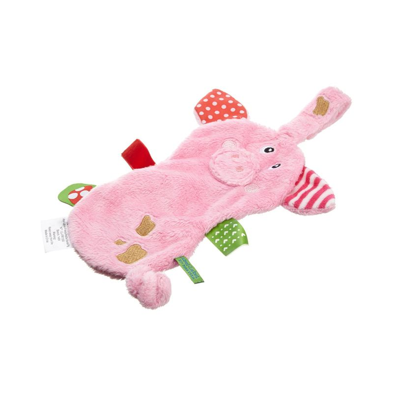 Label Label Pacifier Blanket Pig Pink Mainan Bayi