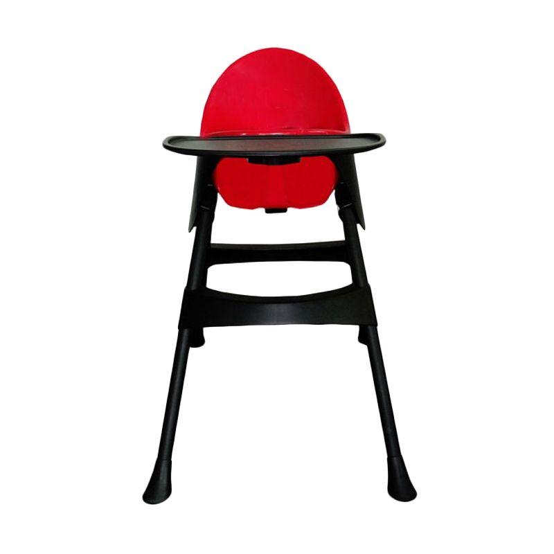 Lucky Baby Modus Cherry Red High Chair Kursi Makan