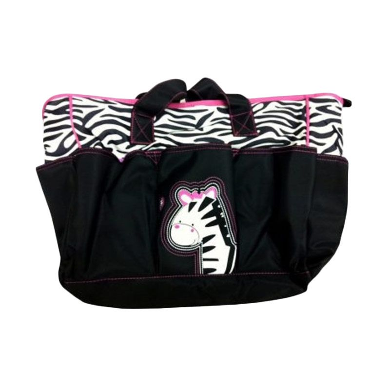 Lucky Baby Mummy Bag It ZEB Hitam Bag