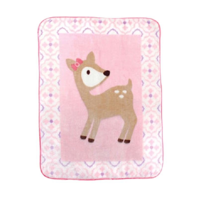 Luvable Friends High Character Deer Girl Selimut Bayi