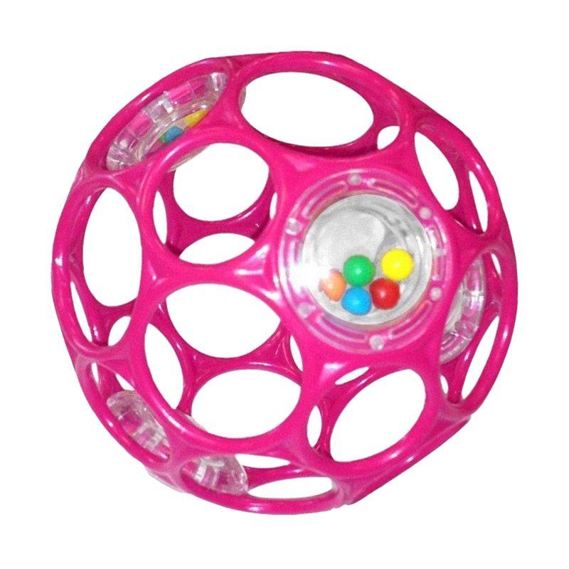Oball Rattles Pink Mainan Bayi