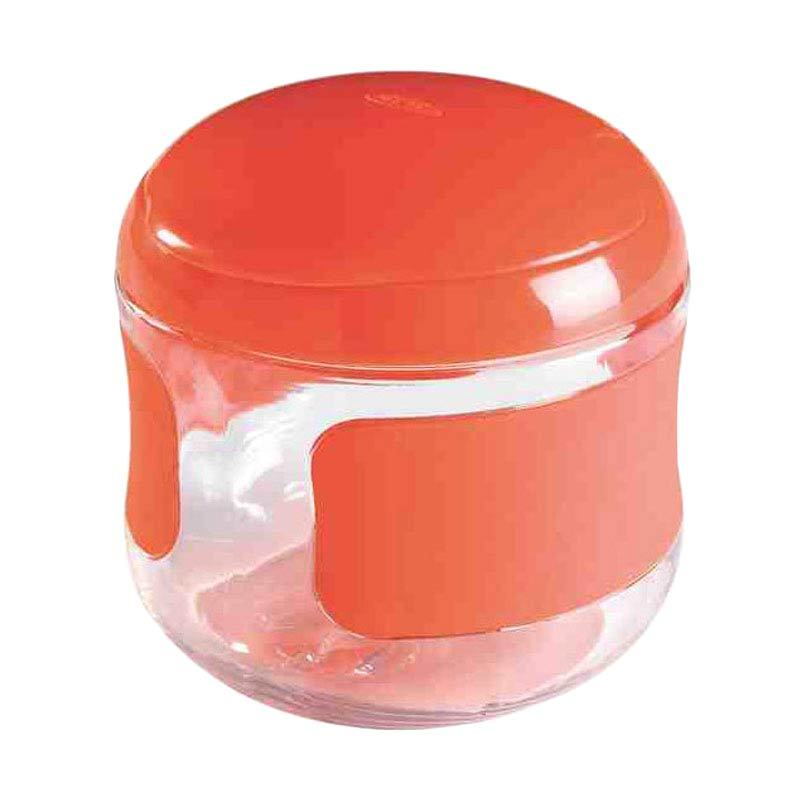 OXO Tot Flip Top Orange Snack Cup [5 Oz]