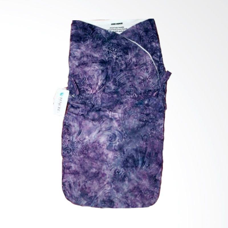 Petit Tigris Egret Tali Batik Bouqet Marbie Purple Ungu Bedong Bayi