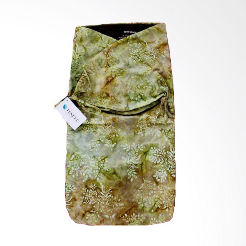 Petit Tigris Olive Tali Batik Small Flower Kiwi Hijau Bedong Bayi