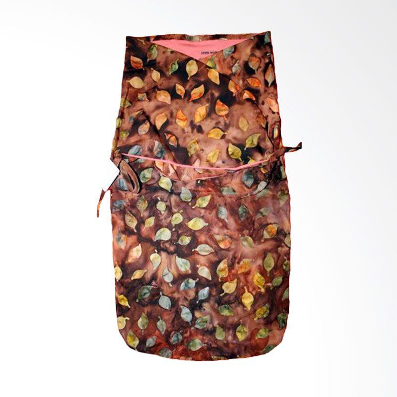Petit Tigris Rekat Rose Batik Leaf Stalk Cocoa Daun Salem Bedong Bayi