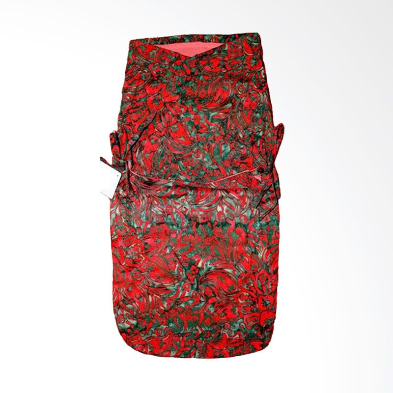 Petit Tigris Rose Tali Batik Cristmas Parsley Red Merah Bedong Bayi