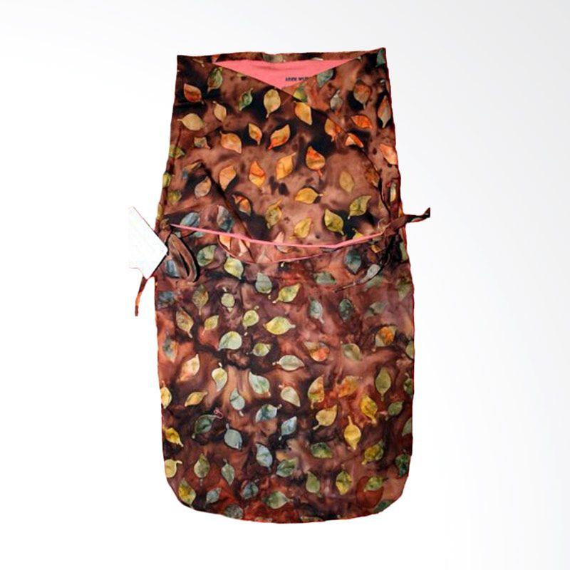Petit Tigris Rose Tali Batik Leaf Tree Spice Coklat Bedong Bayi