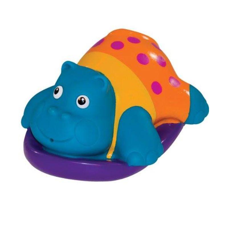 Sassy Boogie Board Buddle Hippo Mainan Anak