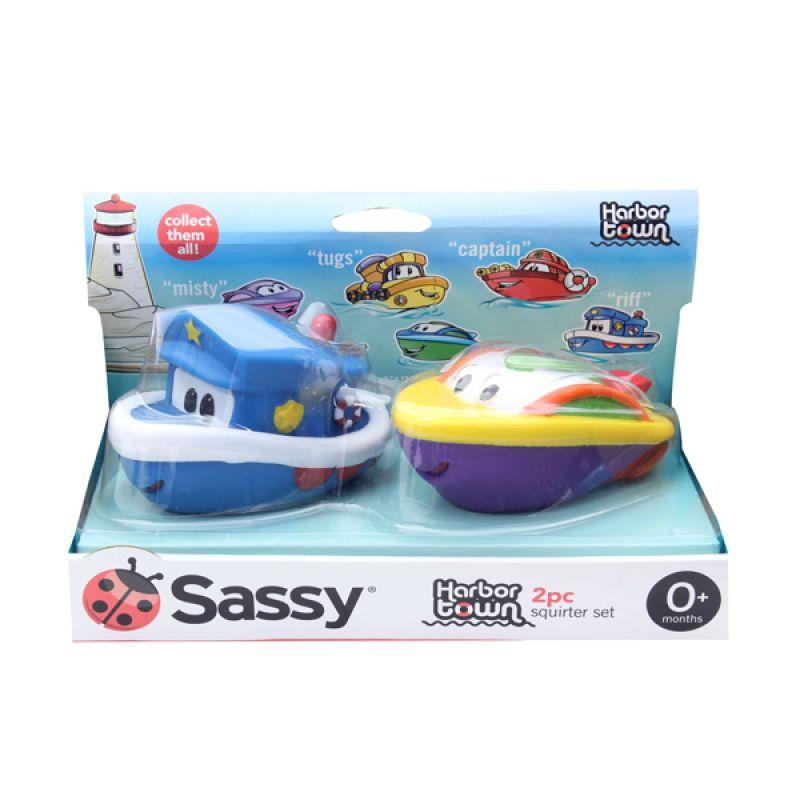 Sassy Harbor Town Squirters Mainan Bayi [ 2 Pack]