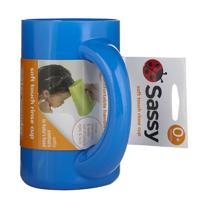 Sassy Soft Touch Rinse Cup Blue Gayung