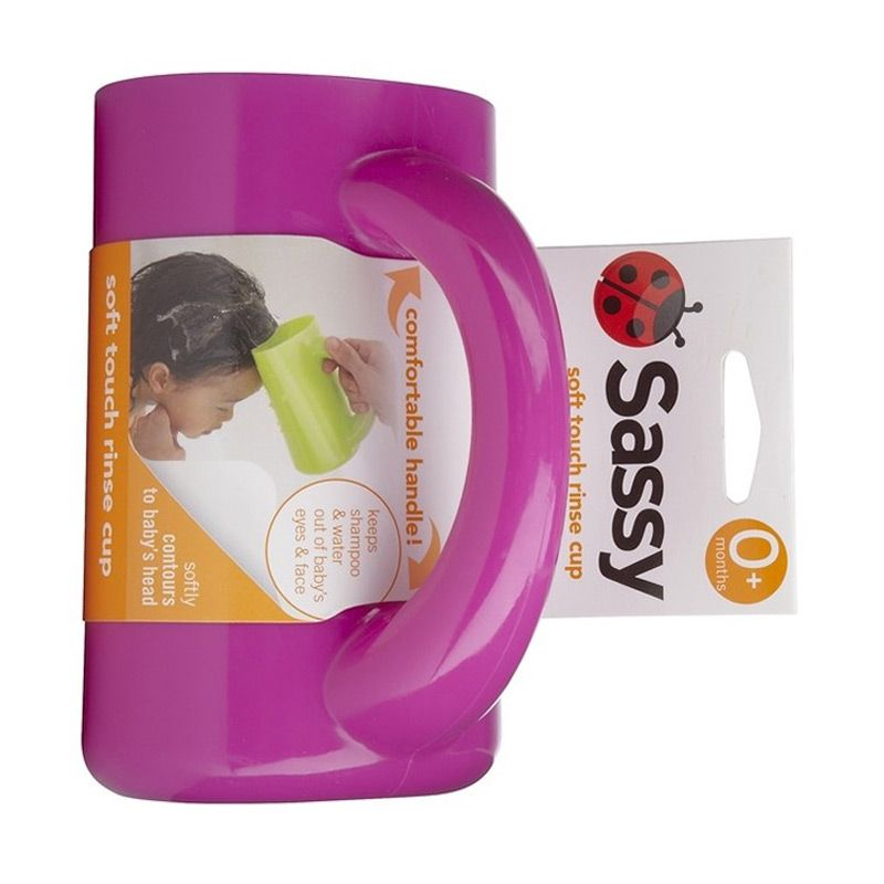 Sassy Soft Touch Rinse Cup Purple Gayung