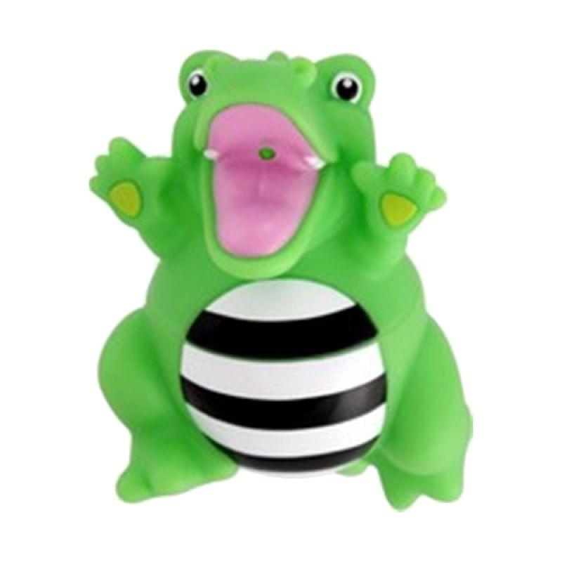 Sassy Stay Clean Bath Squirter Crocodile Perlengkapan Mandi [Single Pack]